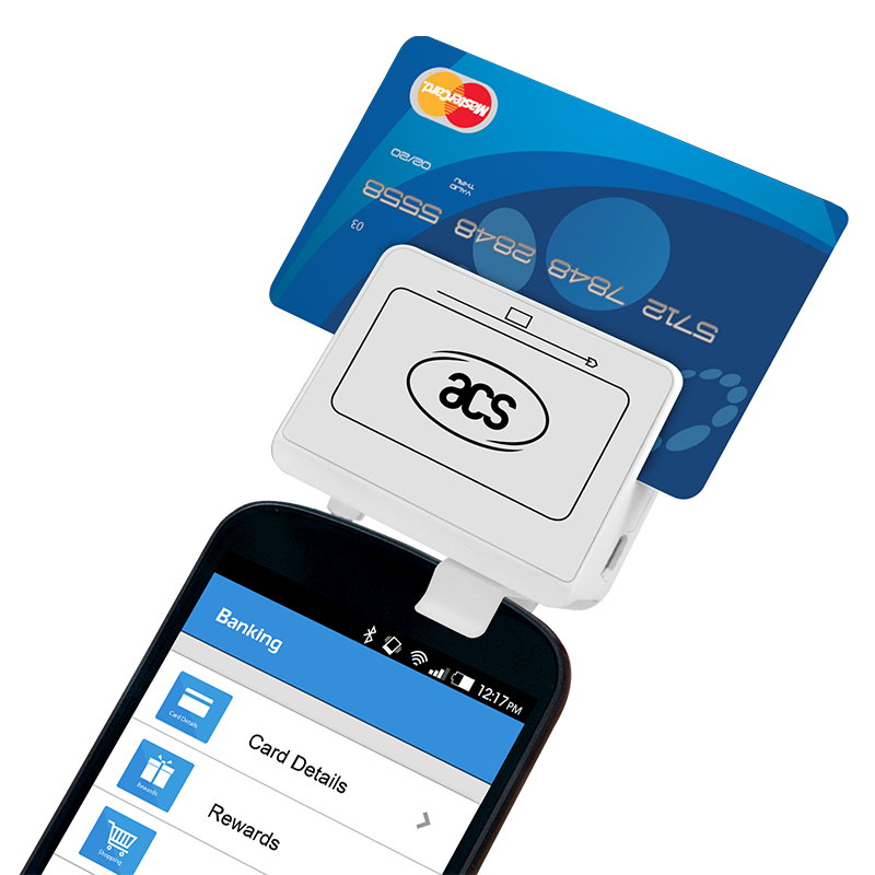 PocketMate čitač magnetne trake i kontaktnih kartica