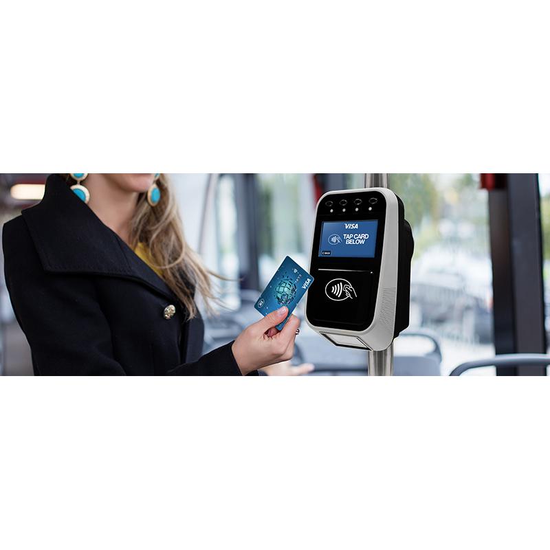 Uređaj za naplatu karata sa QR kod skenerom