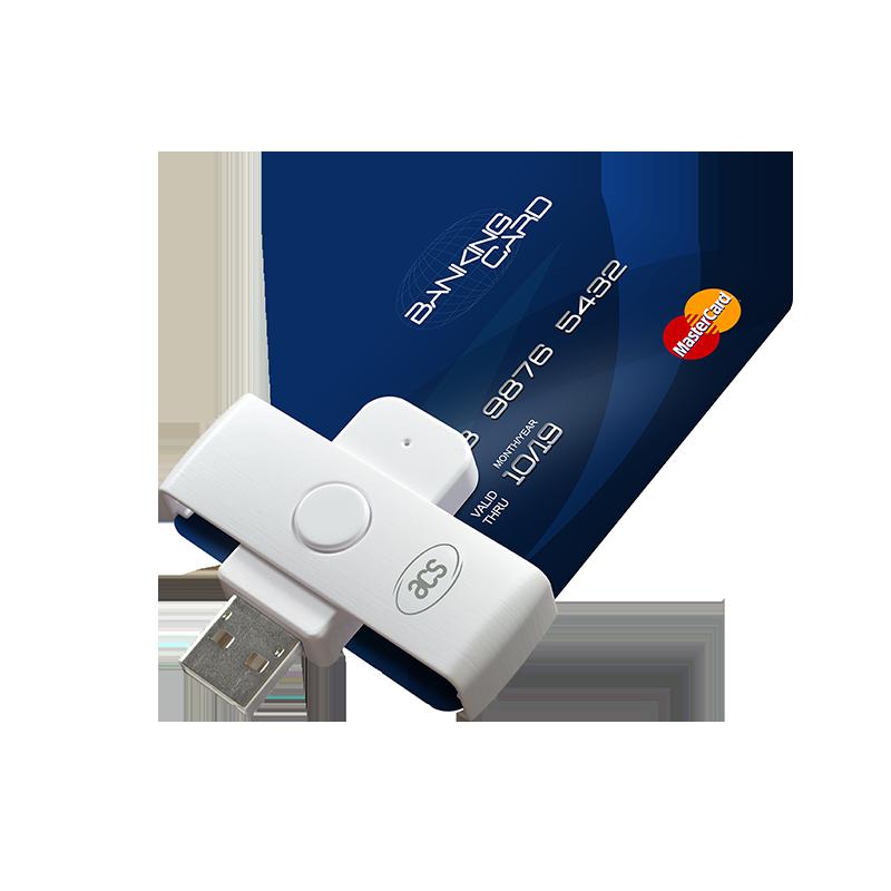 Čiitač za e-banking sa USB Type-A povezivanjem