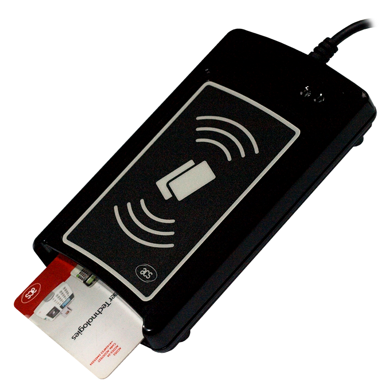 DualBoost II – hibridni čitač kontaktnih i beskontaktnih pametnih kartica serijski port