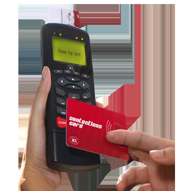Ručni NFC čitač beskontaktnih kartica