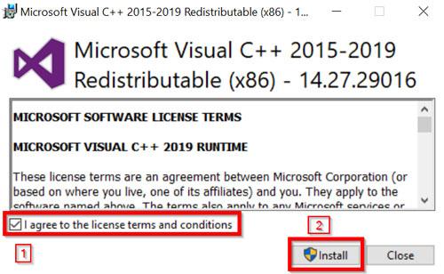 Instalacija programa Celik VisualCC-1