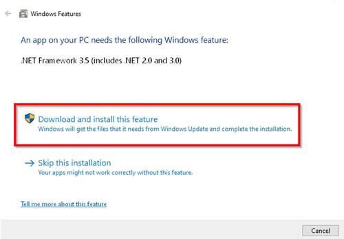 Čitać saobraćajne dozvole NET Framework instalacija 2