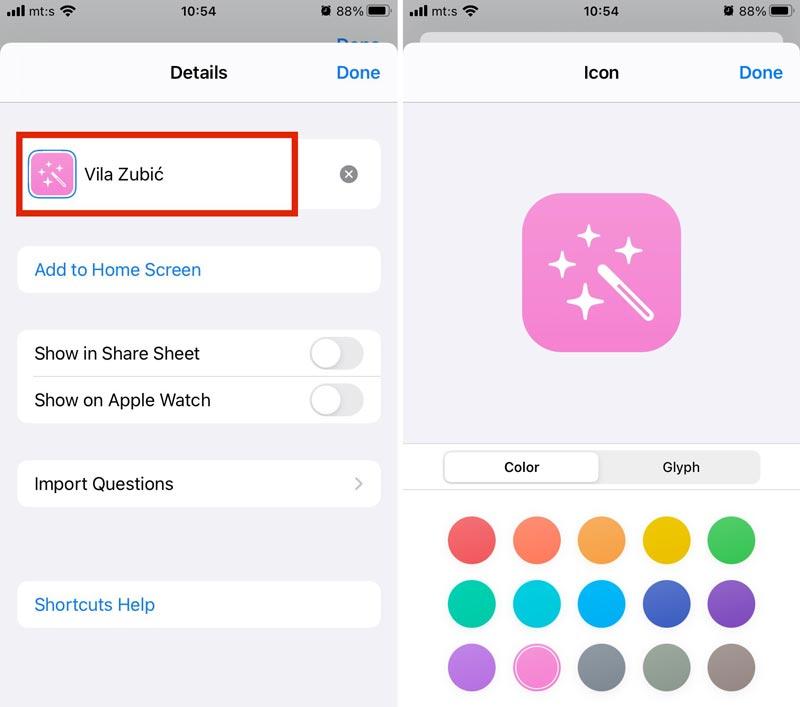 NFC Kartice, iPhone i prečice 02