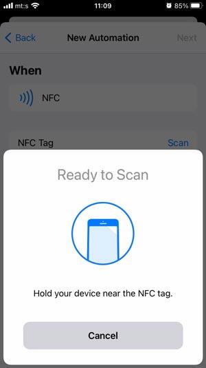 NFC Kartice, iPhone i prečice 21