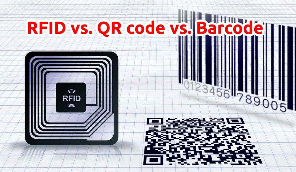 RFID vs. QR code vs. Barcode
